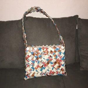 Handbags - Recycle mini cookies wrapper purse
